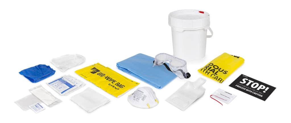 hazardous drug spill kit